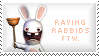 Raving Rabbids Stamp by Kezzi-Rose