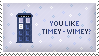 TARDIS Stamp by Kezzi-Rose