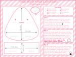 Onigiri Plushie Tutorial by Kezzi-Rose