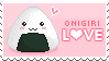 Onigiri Stamp by Kezzi-Rose