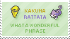 Kakuna Rattata Stamp by Kezzi-Rose
