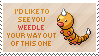 Weedle Stamp by Kezzi-Rose
