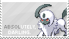 Absol Stamp by Kezzi-Rose