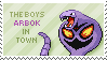 Arbok Stamp by Kezzi-Rose
