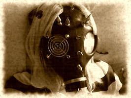 Gas Mask by NicoleDolly