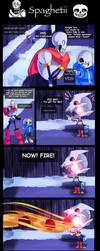 Undertale: Spaghetii Dragons by LillinApocalypse