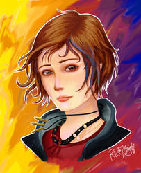 Chloe Price - Before the Storm by artfreakguy
