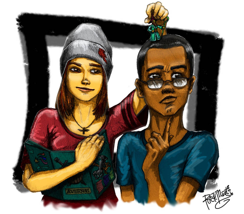 Steph and Mikey - Life is Strange:Before the Storm by artfreakguy