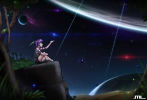 DP Saga - Starry Sky by MLeth