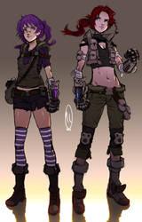 Emily and Yunie Reborn by MLeth