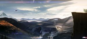 Dark Planet Saga - Eclipse Valley by MLeth