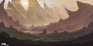 Landscape by MLeth