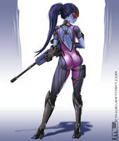 Overwatch - Widowmaker by MLeth