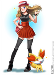 Pokemon - Serena by MLeth