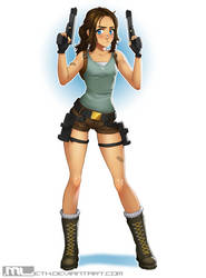 Tomb Raider Brooke by MLeth