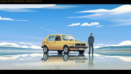 Gold Golf by MLeth