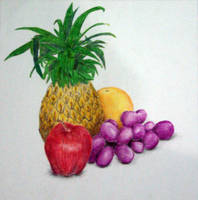 DRAWING - Fruits by Kageyoshi07
