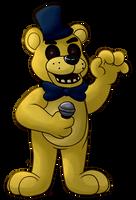 Golden Freddy by HintoArt