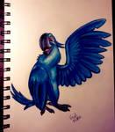 Blu by HintoArt