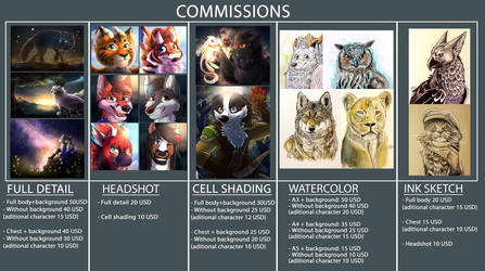COMMISSIONS ARE OPEN! by HintoArt