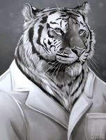 Dr. Tiger by HintoArt