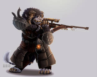 Charr for Cael_Croix by HintoArt