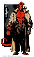 hellboy by Loopydave