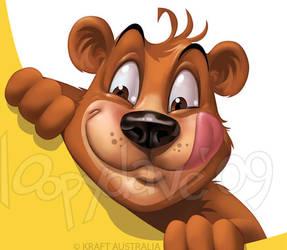 Kraft Bear by Loopydave