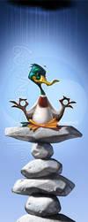 Zen Duck by Loopydave