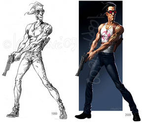 original sketch comparison by Loopydave