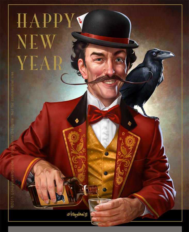 Happy New Year 2012 by Loopydave