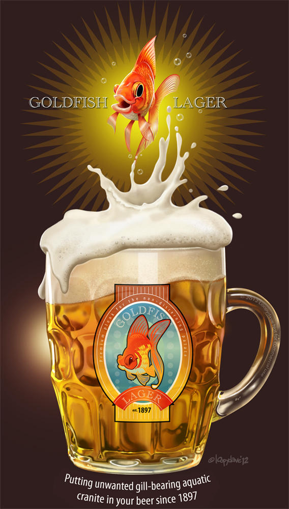 Goldfish Lager by Loopydave