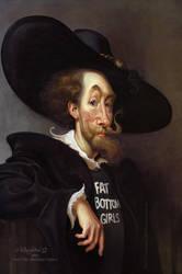 Peter Paul 'bootyboy' Rubens by Loopydave