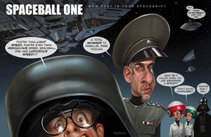 How fast is your spaceship? Spaceballs by Loopydave