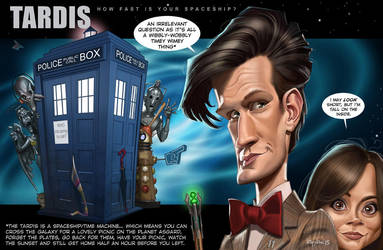 How fast is your spaceship? Dr Who by Loopydave