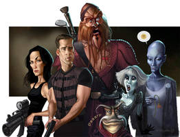 Farscape by Loopydave
