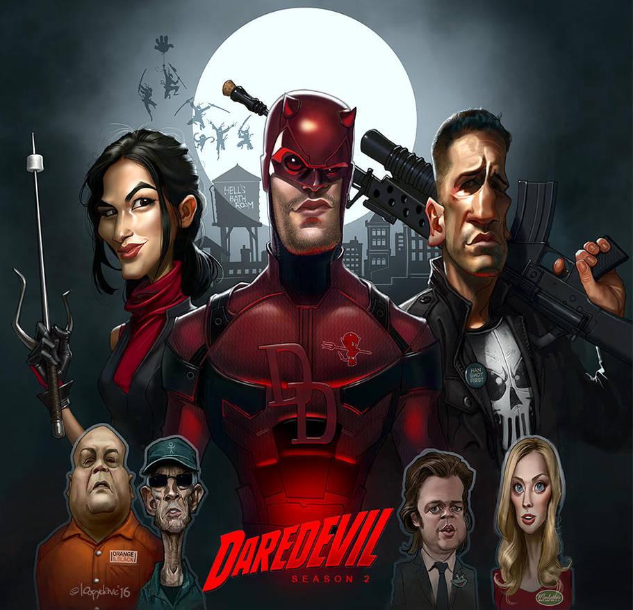 Daredevil by Loopydave