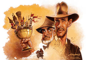Indiana Jones and the Holy Grail by Loopydave