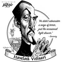 Inktober day06: Havelock Vetinari by Loopydave