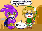 Welcome home mr hero by RoseOfDarkness2