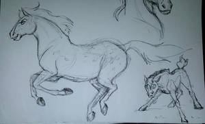 Spirit-Style Doodles #2 by albinoraven666fanart