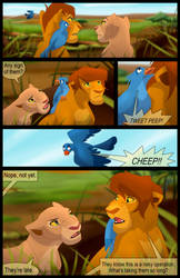 Scar's Reign: Chapter 2: Page 1 by albinoraven666fanart