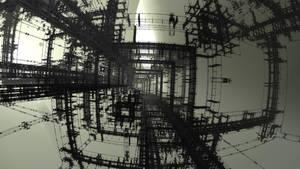 Sci-fi wallpaper by bitanga