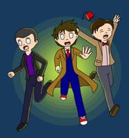 Run! Times Three by SpearHawk