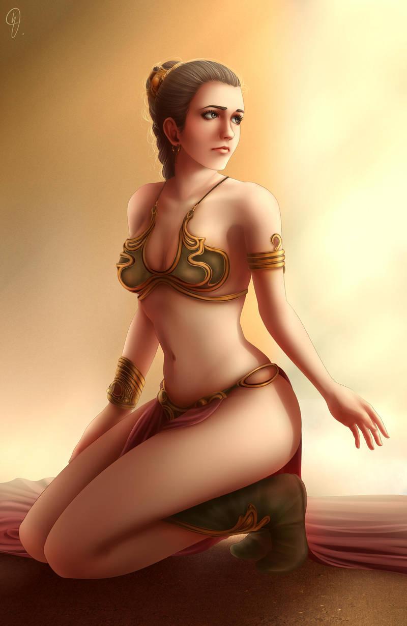 Princess Leia Organa by Nel-Nelart on DeviantArt