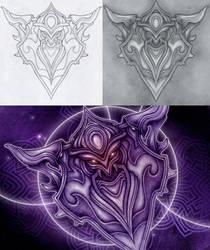 Dark shield by MermaliorX