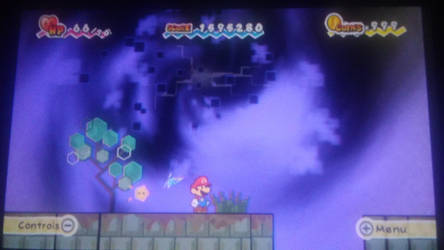 Super Paper Mario - Scary View of the Void by JerryGamer720