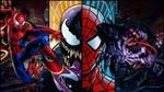 Spiderman Vs Venom WallPaper by ZoomFantasy