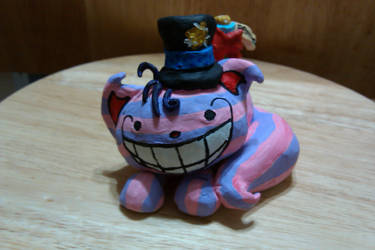 My  Spin on the Cheshire Cat 1 by KneeLee-QuoteUnquote