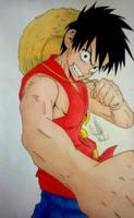 Luffy by MiioChann